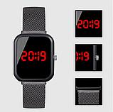 Часы ручные магнитный ремешок, фото 3