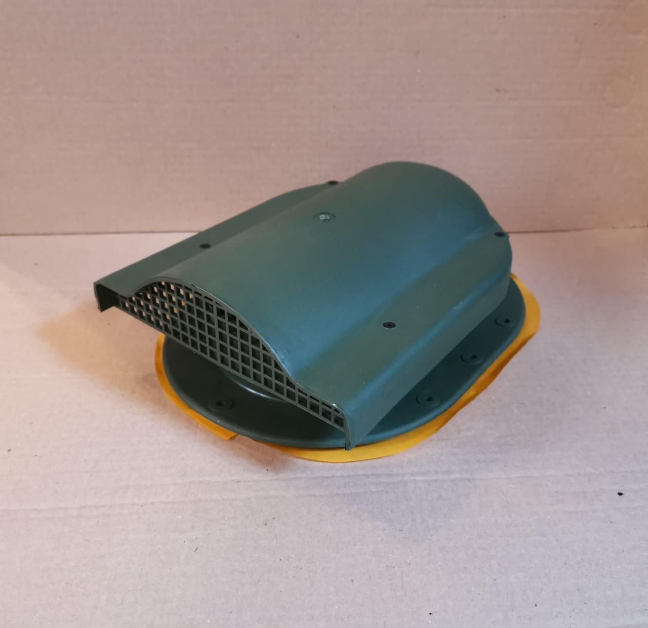 Вентиль Аэратор для гибкой черепицы, на фальцевую (готовая кровля) WPI 150 Зеленый