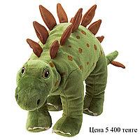 Мягкая игрушка динозавр Стегозавр, 55 см