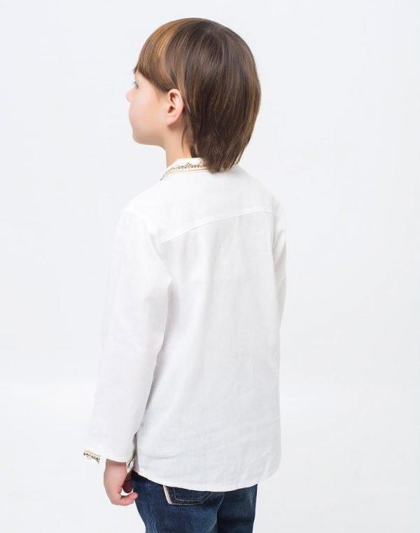 Вышиванка для мальчиков Дубочок ДР хлопок длинный рукав - фото 3