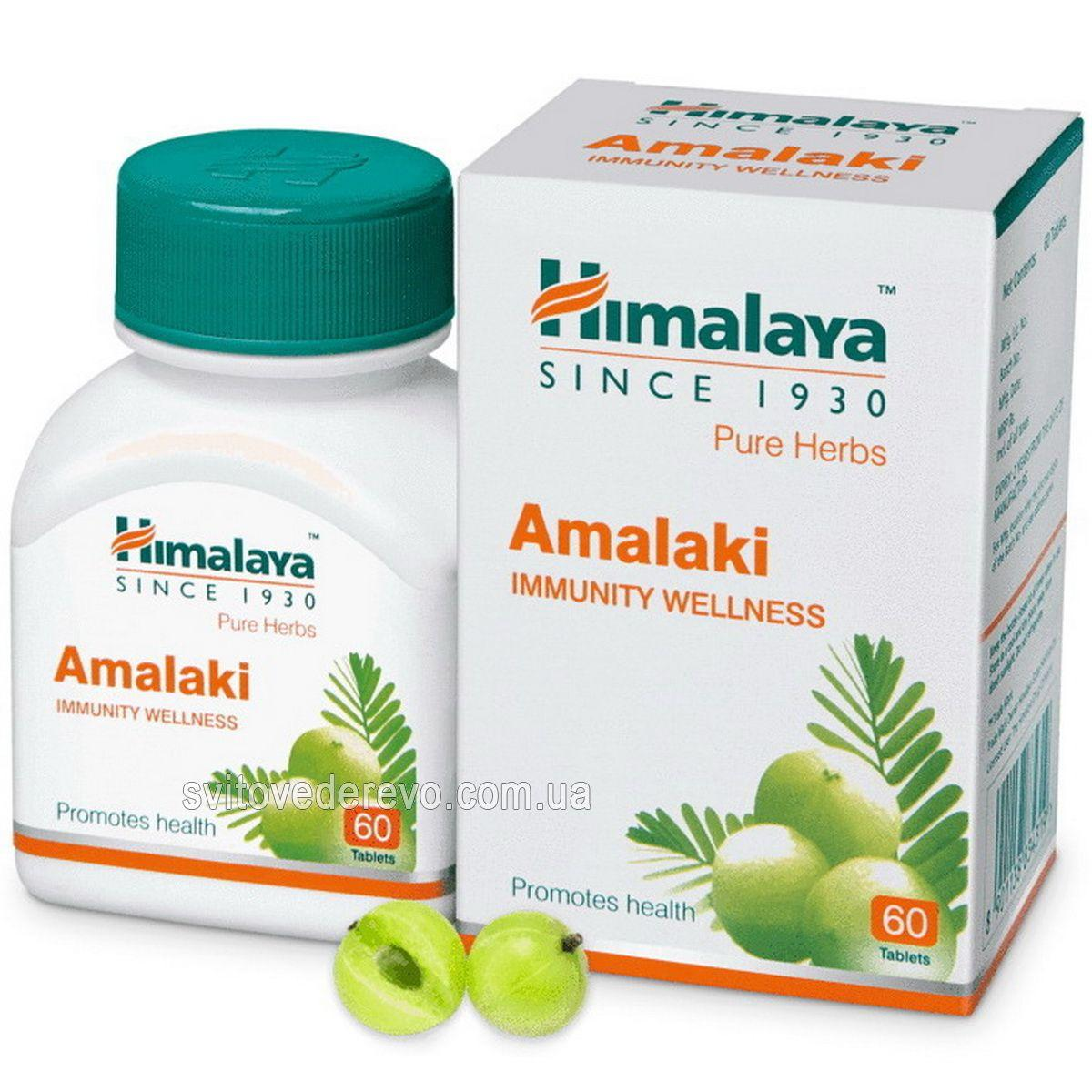 Амалаки Амла Amalaki (Emblica officinalis) Омолаживающее и тонизирующее средство. 60 капсул 250 мг.