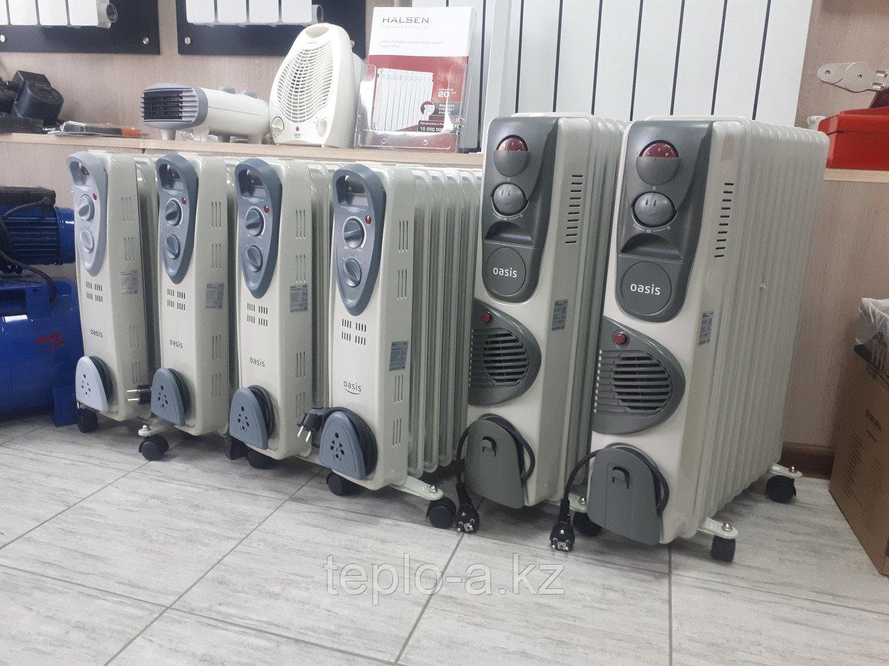 Масляный радиатор Oasis UТ-25 (11 сек)