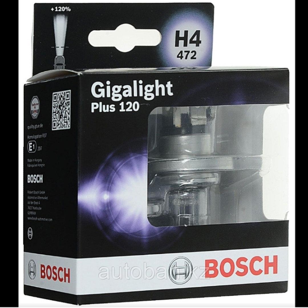 Лампа H4 BOSCH +120  Gigalight