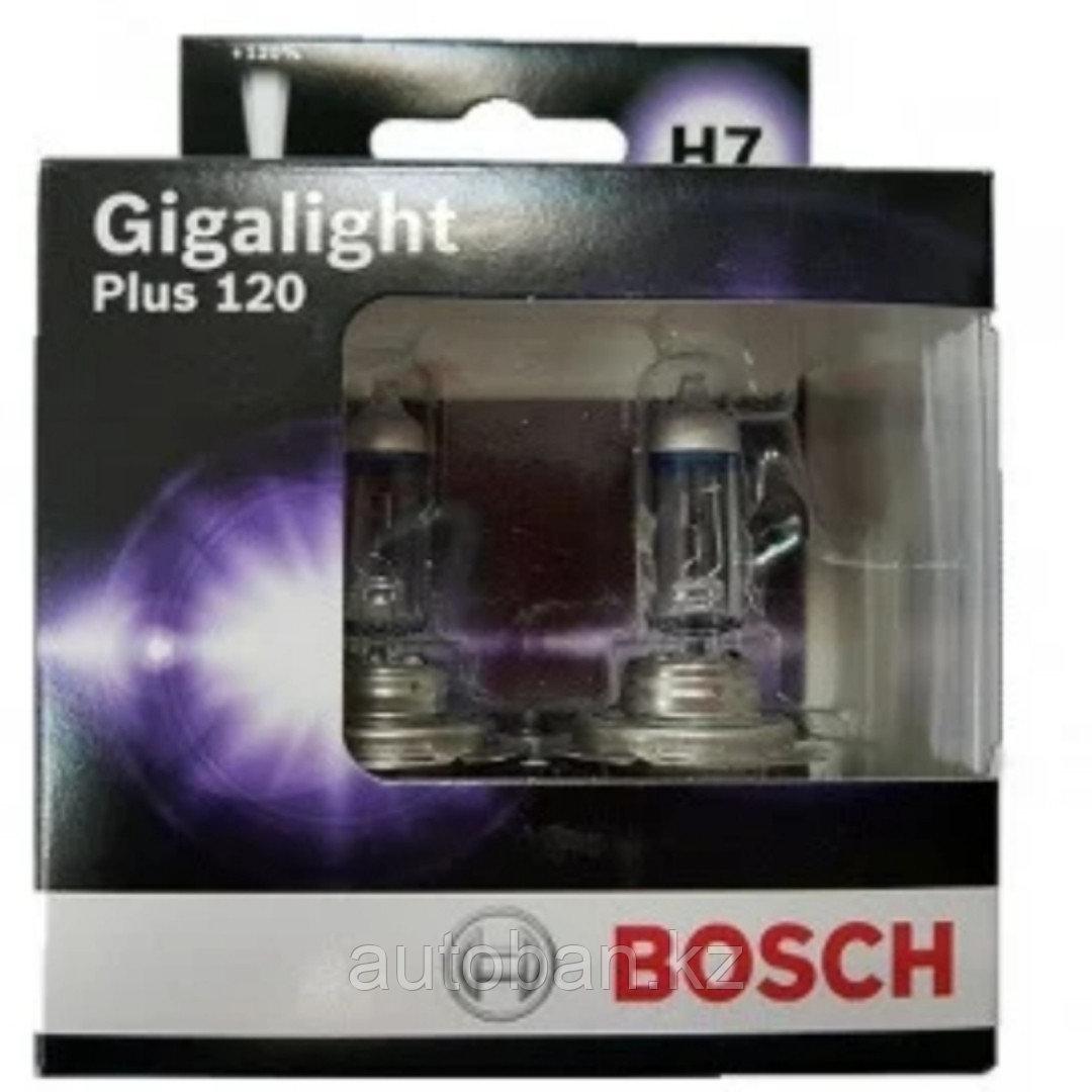 Лампа H7 BOSCH +120% Gigalight
