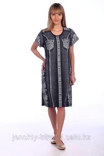 Собственное производство Платье женское кулирка 2.112-В