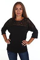 Собственное производство Блуза женская 4.45-Ю черный