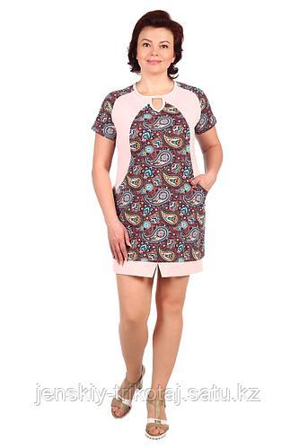 Собственное производство Платье женское кулирка 2.97 розовый