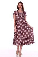 Собственное производство Платье женское 8.109 коричневый