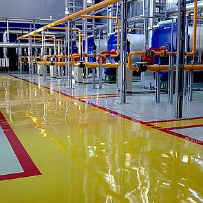 Производственные полы для цеха