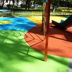 Покрытия для детских площадок