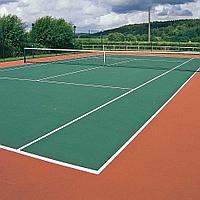 Наливное покрытие Hard для тенниса