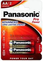 Батарейка щелочная PANASONIC Pro Power AA 2B (2 шт)
