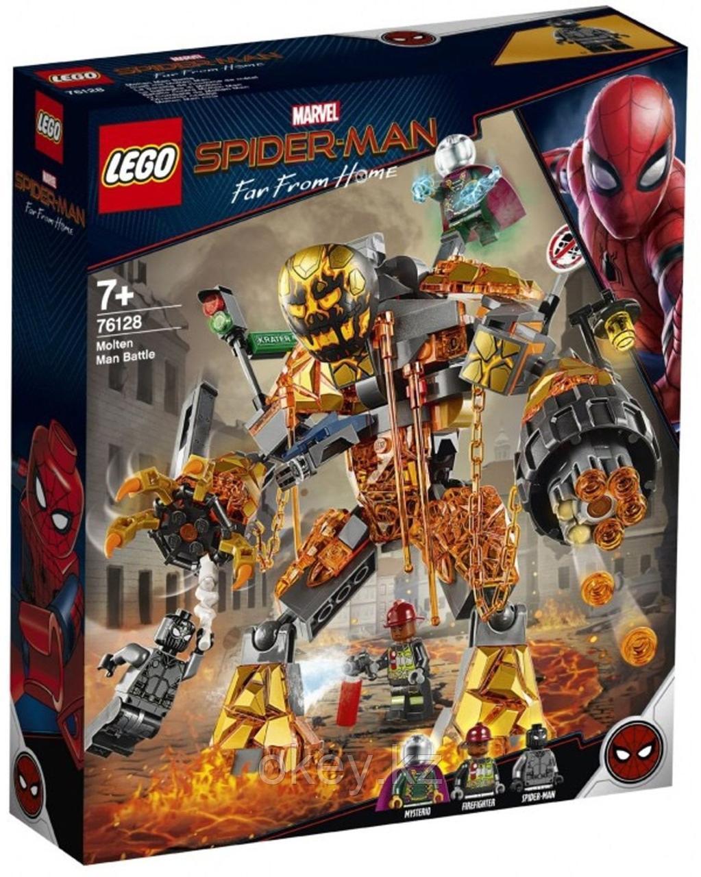 LEGO Super Heroes: Бой с Расплавленным Человеком 76128