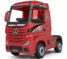 Электромобиль Barty Mercedes-Benz Actros HL358 (красный глянец)
