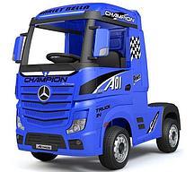 Электромобиль Barty Mercedes-Benz Actros HL358 (синий глянец)
