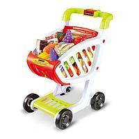 Игровой набор тележка с продуктами Shopping cart