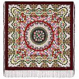 Павлопосадский платок Дождь 1779-9 (135х135 см), фото 5