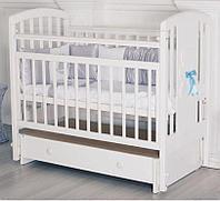 """Кровать детская Incanto """"HUGGE"""", с маятником и ящиком"""