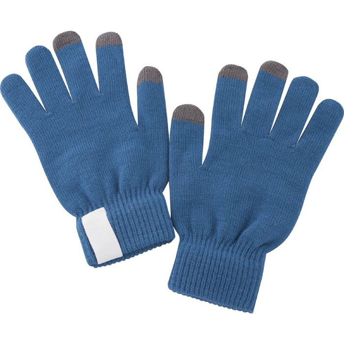 Сенсорные перчатки Scroll, цвет синий