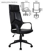 Кресло офисное BRABIX Prime EX-515, экокожа, чёрное
