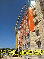Аренда автовышки для фасадных работ (28 метров)