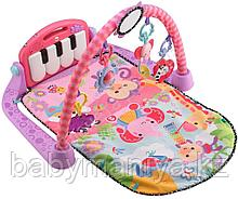 Коврик развивающий (пианино) Lorelli Toys розовый