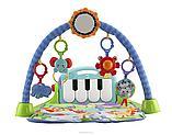 Коврик развивающий (пианино) Lorelli Toys голубой, фото 3