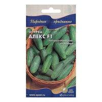 Семена Огурец 'Алекс' F1 Дом семян, раннеспелый, партенокарпический, 6 шт (комплект из 10 шт.)