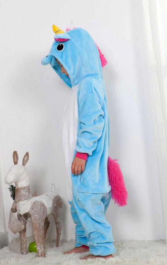 Кигуруми Голубой единорог детский - фото 3