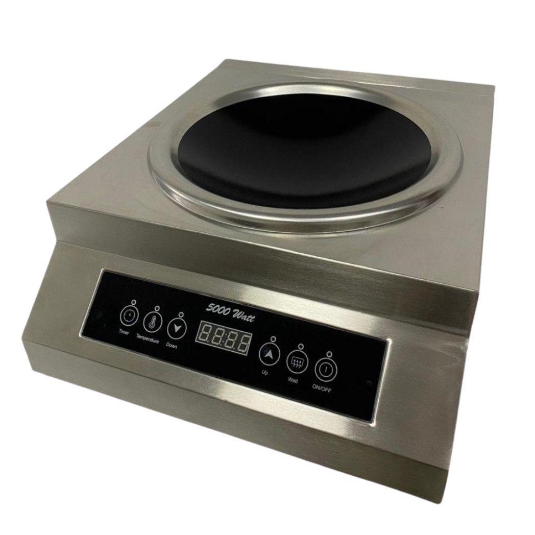 Плита индукционная электрическая настольная, мощность 5000 Вт