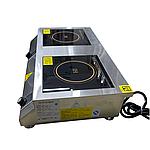 Плита индукционная электрическая настольная Вок, мощность 5+5 кВт, фото 2