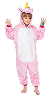 Кигуруми светло розовый единорог детский 140