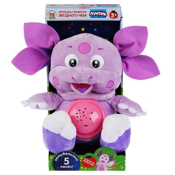 "Мульти-Пульти Мягкая игрушка - проектор Звездного Неба ""Лунтик"""