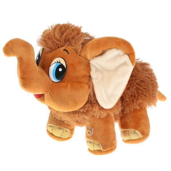 Мульти-Пульти Мягкая игрушка Мамонтёнок, 20 см