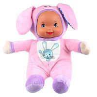 Карапуз Мягкая игрушка Зайка для сладких снов, 32 см, 6 песен А. Барто