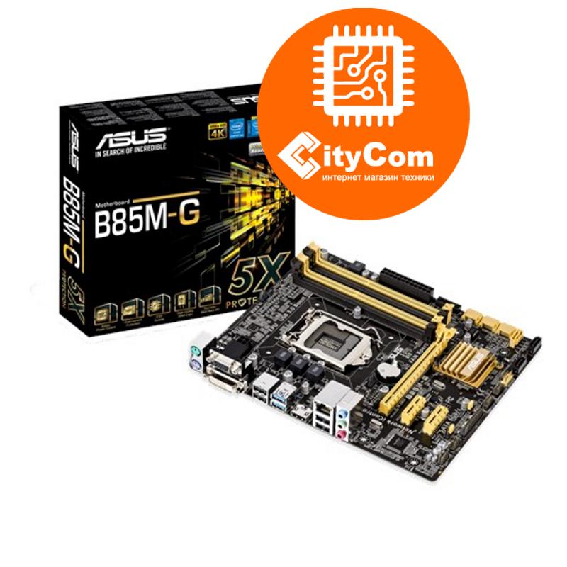 Материнская плата Motherboard 1150 Asus B85M-G