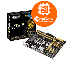 Материнская плата Motherboard 1150 Asus B85M-G  <B85 ,1 x PCIe 3.0, 2 x PCIe 2.0,VGA+DV Арт.3426
