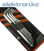 Набор ключей имбусовых, шестигранник, от 1,5 мм до 10 мм купить в Нур-Султане,Астане