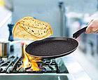 Сковородка блинная  Blaumann с лопаткой 24 см. BL-1531MB-SP, фото 3