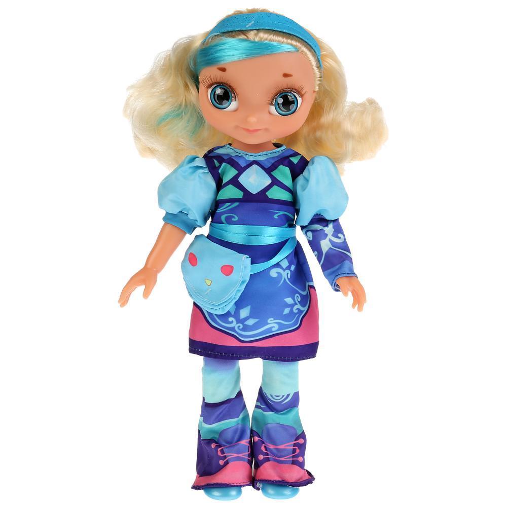 Сказочный патруль Интерактивная кукла Снежка кэжуал, 32 см. 15 песен и фраз