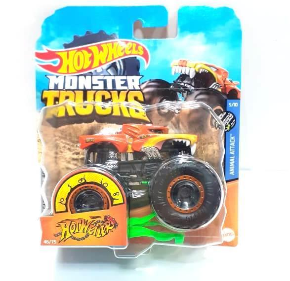 """Hot Wheels FYJ44B """"Monster Trucks"""" Серия машинок в ассортименте, 1:64 (Редкие машинки)"""
