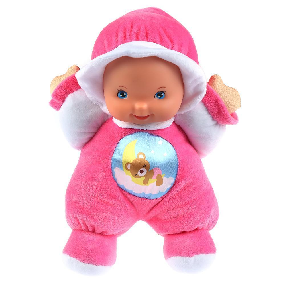 Карапуз Мягкая игрушка – Кукла Сонечка для сладких снов, 32 см, 5 колыбельных