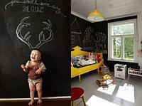 Пленка на стену для рисования мелом