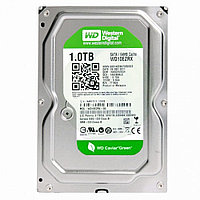 Жесткий диск HDD  1Tb WD Green  Sata  Б.У.