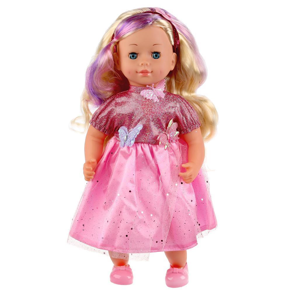 Карапуз Развивающая интерактивная кукла, 3000 слов, 40 см.