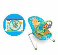 """Кресло-качалка с игрушками и вибрацией """" Animal Paradise"""""""