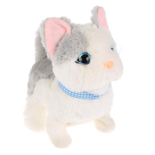 My Friends. Интерактивная игрушка - Котёнок Джесси с бутылочкой. 16 см.