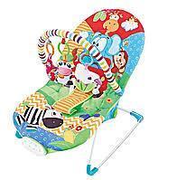 Кресло-качалка с игрушками и вибрацией