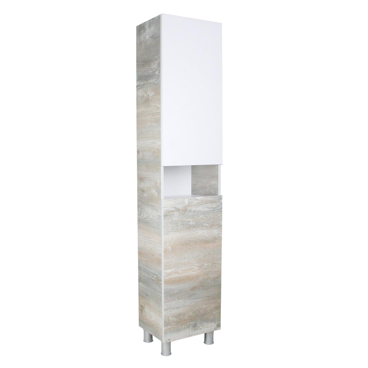 Пенал-шкаф напольный Гуана 40  в ванную комнату (Экзотика)