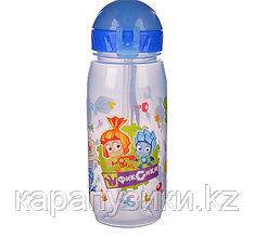 Детская бутылочка с трубочкой  Фиксики в ассортименте